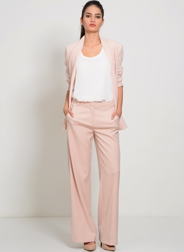 Vero Moda Vero Moda 10151134 Açık Kadın Pantolon Pembe